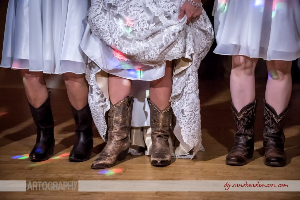 truro, salmon river, lower harmony, ns, nova scotia, wedding, photography, photographer, image, photo, bride, reception, dance, cowboy, boots