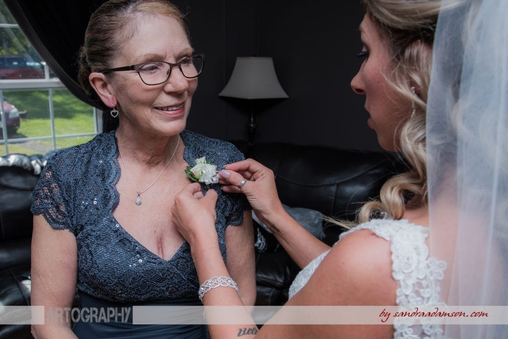 truro, salmon river, lower harmony, ns, nova scotia, wedding, photography, photographer, image, photo, bride, mother of the bride, coursage