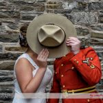 Halifax, Beaverbank, NS, Nova Scotia, wedding, photography, photographer, images, image, photo, photos, kinsac center, bride, groom, first look, rcmp regalia, keiths brewery, hat