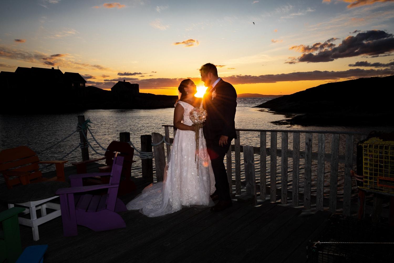 halifax ns wedding photographer, halifax wedding photographers, halifax engagement photographer, engaged, sandra adamson studios, peggys cove wedding, ocean wedding, bride, groom, sunset