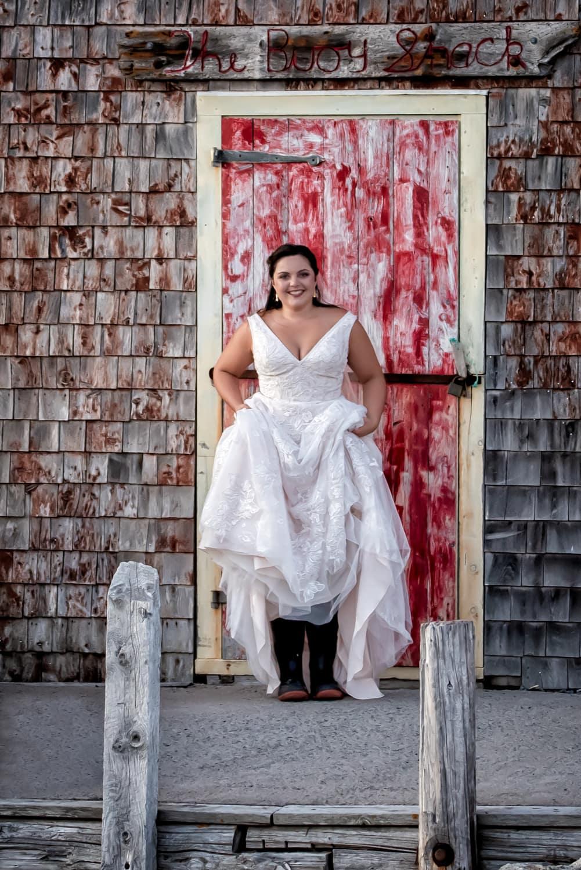 halifax ns wedding photographer, halifax wedding photographers, halifax engagement photographer, engaged, sandra adamson studios, peggys cove wedding, ocean wedding, bride, wharf, rustic wedding, rubber boots