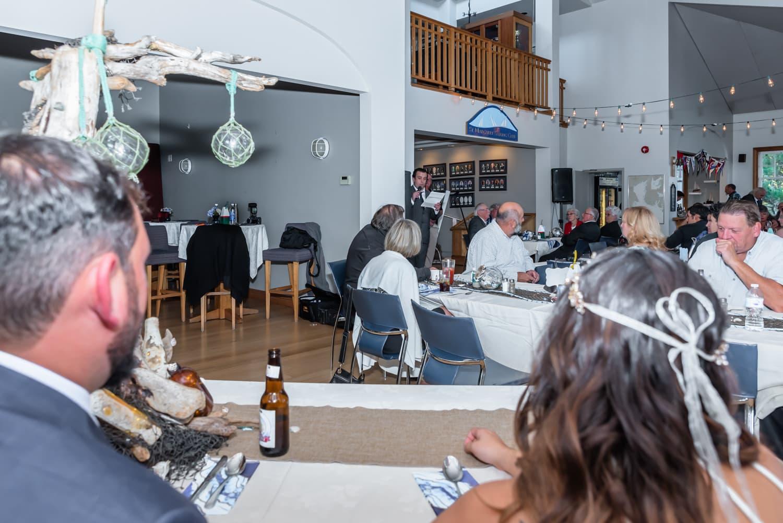 halifax ns wedding photographer, halifax wedding photographers, halifax engagement photographer, engaged, sandra adamson studios, st margarets sailing club, ocean wedding, wedding reception, bride, groom, wedding speeches