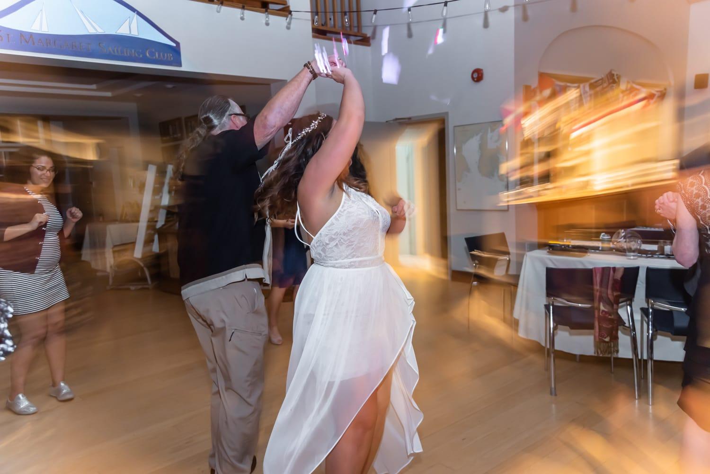 halifax ns wedding photographer, halifax wedding photographers, halifax engagement photographer, engaged, sandra adamson studios, st margarets sailing club, ocean wedding, wedding reception, first dance, bride, groom, bride, dancing